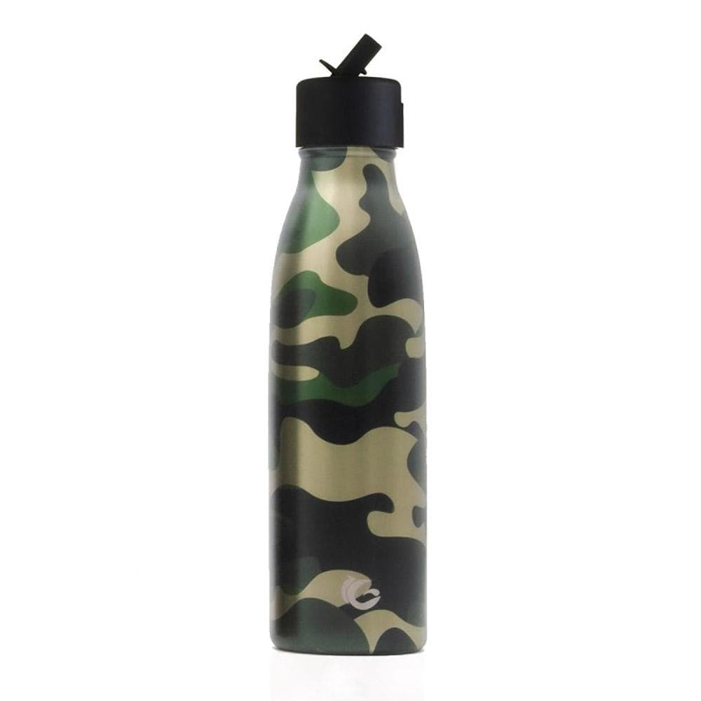 One Green Bottle Hunter Camouflage Stainless Steel Bottle 500ml &Keep