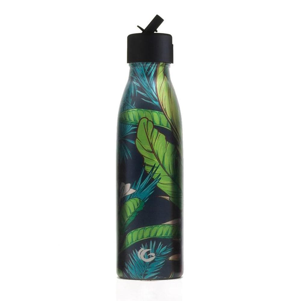 One Green Bottle Jungle Luxe Stainless Steel Bottle 500ml &Keep