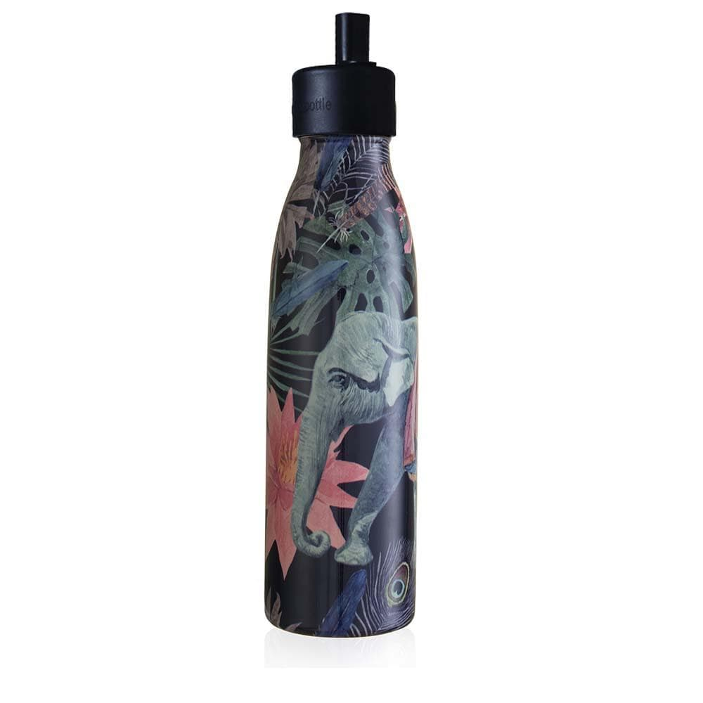 One Green Bottle Stainless Steel Bottle 500ml - Elephant Sports Cap &Keep