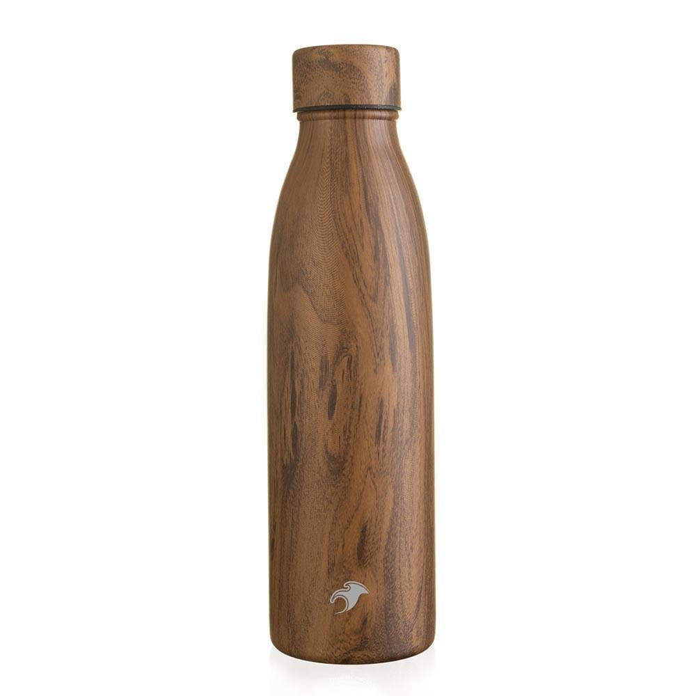 One Green Bottle Stainless Steel Bottle 500ml - Teak Sports Cap &Keep