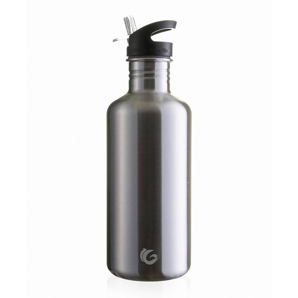 One Green Bottle Tough Canteen Stainless Steel Bottle 1200ml Silver quench cap