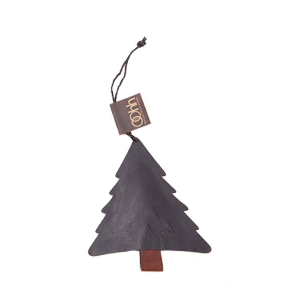 Hanging Recycled Paper Christmas Ornament - Tree Lubech Living Oohh &Keep