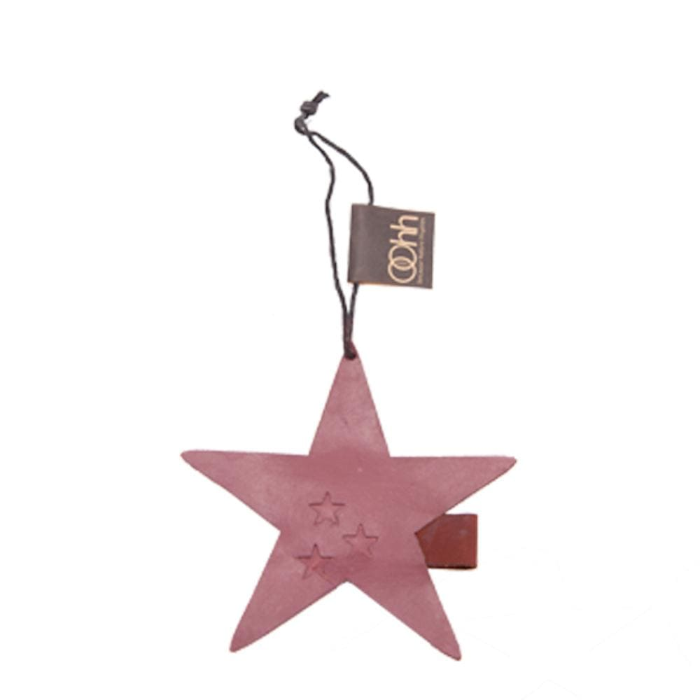 Hanging Recycled Paper Christmas Ornament - Star Lubech Living Oohh &Keep