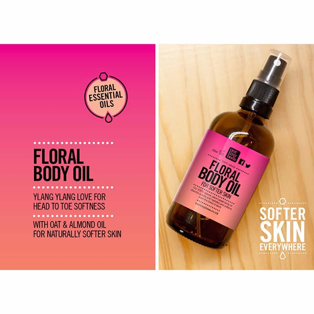 Floral Body Oil by Our Tiny Bees &Keep