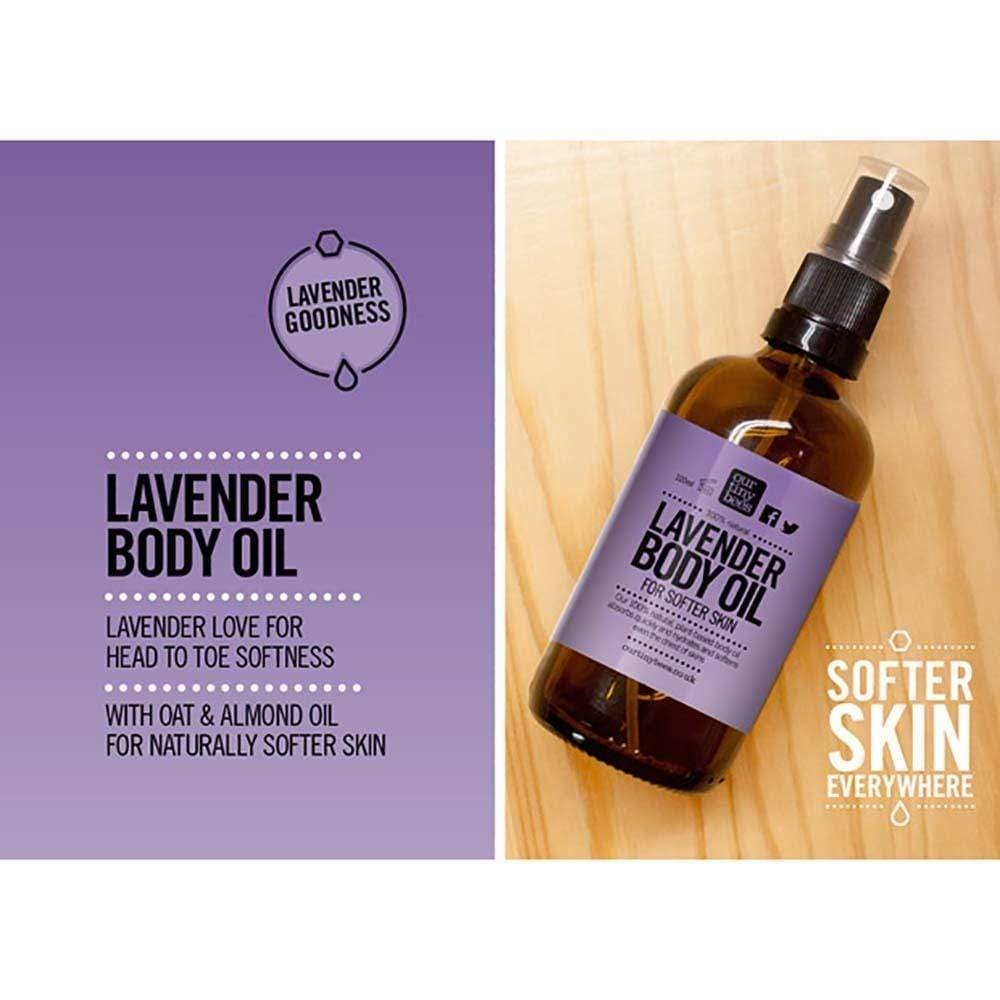 Lavender Body Oil by Our Tiny Bees &Keep