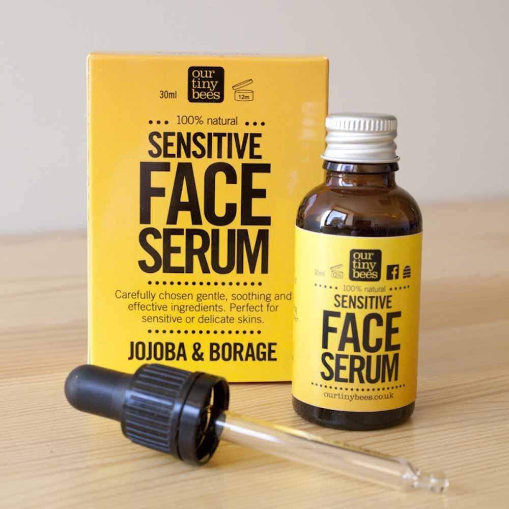 Sensitive Face Serum by Our Tiny Bees &Keep