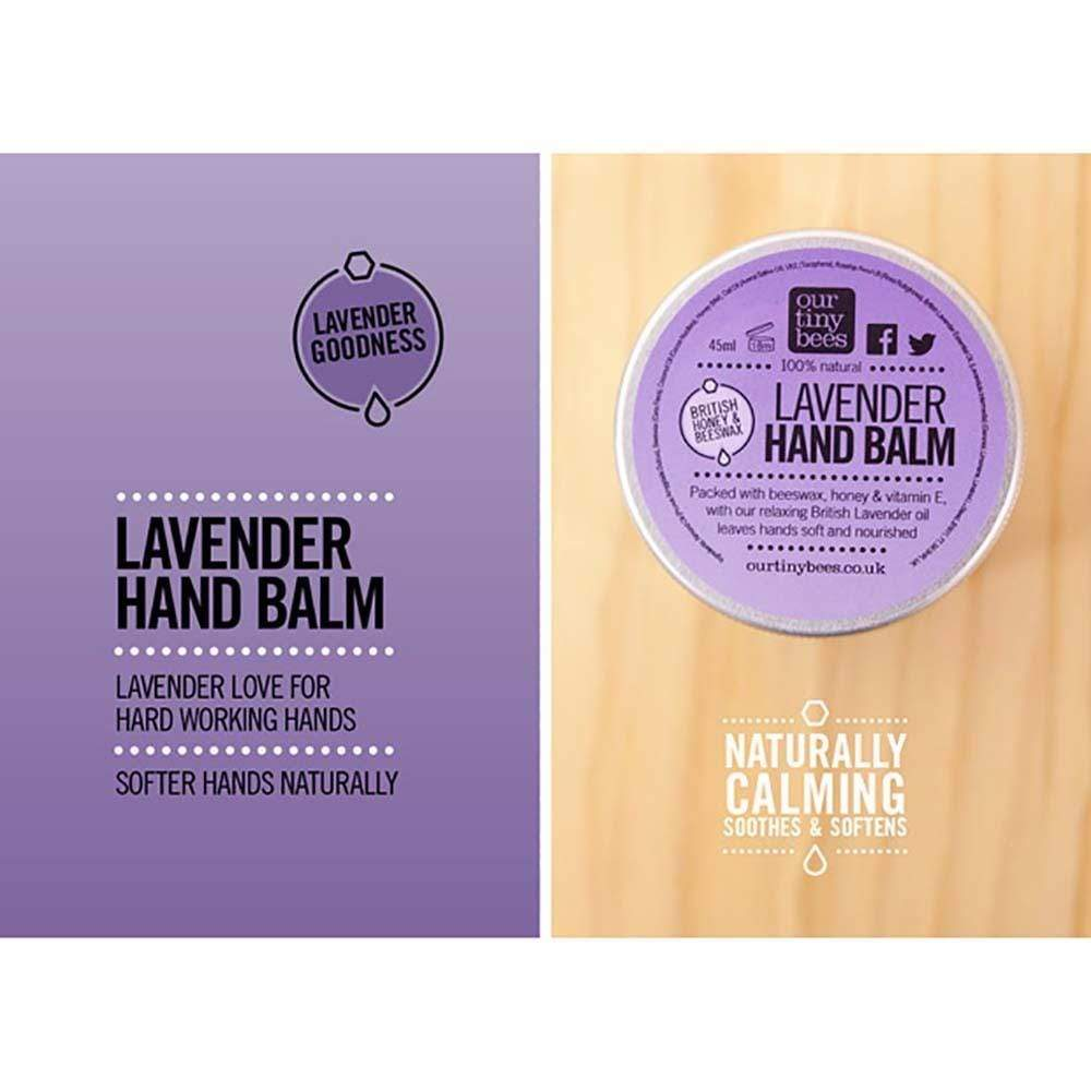 Our Tiny Bees Antibacterial Hand Balm - Lavender &KeepOur Tiny Bees Antibacterial Hand Balm - Lavender &Keep
