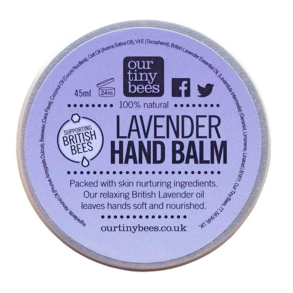 Our Tiny Bees Antibacterial Hand Balm - Lavender &Keep