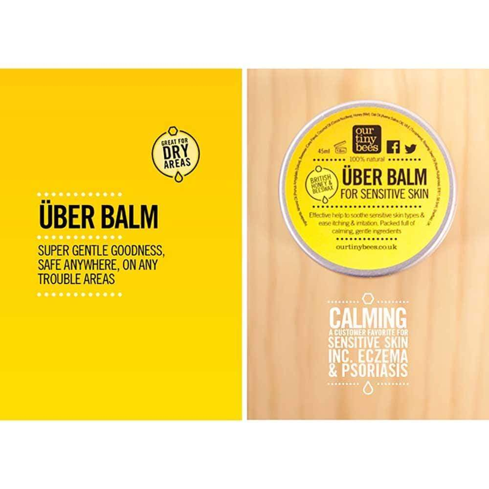Our Tiny Bees Sensitive Über Balm &Keep