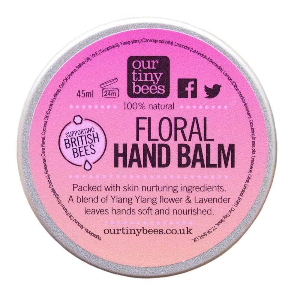 Our Tiny Bees Softening Hand Balm - Floral &Keep