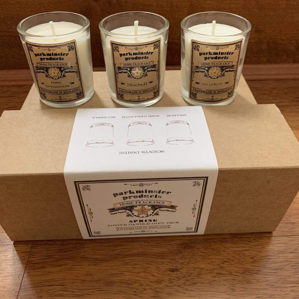 Spring Triple Pack Soy Wax Candle Gift Set - Parkminster &Keep