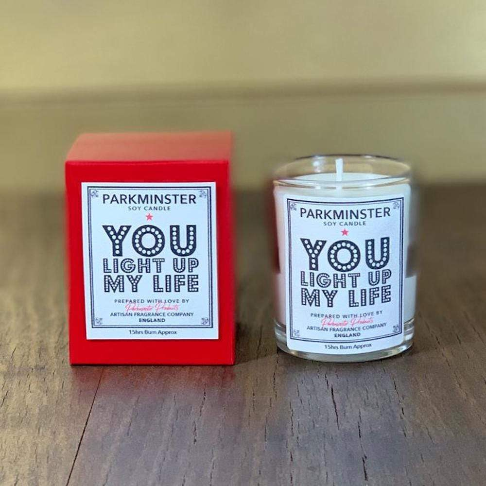 You Light Up My Life Soy Wax Candle - Parkminster
