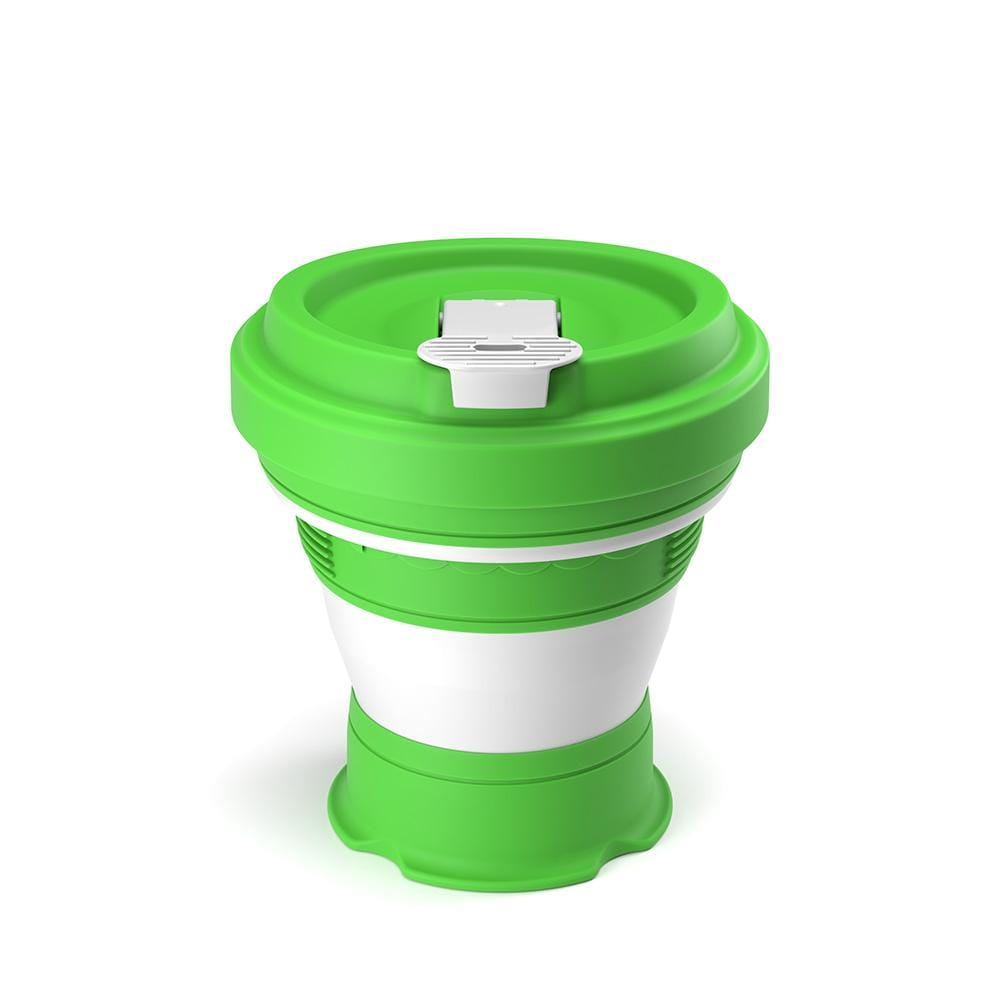 Pokito Collapsible Reusable Cup - Lime &Keep