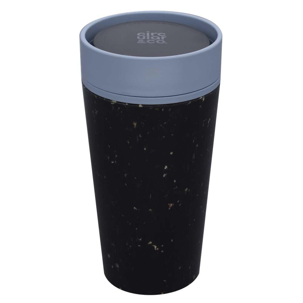 Circular & Co (formerly rCUP) Recycled Coffee Cup 12oz (340ml) - Black & Teal