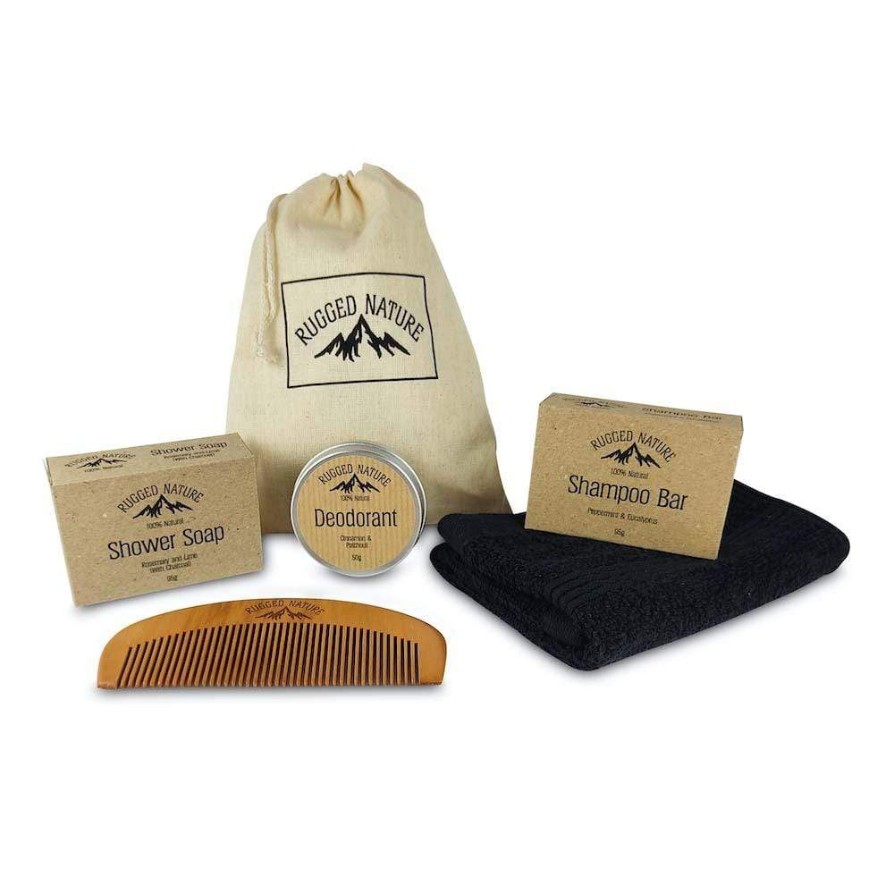 Bathroom Essentials Gift Set by Rugged Nature &Keep