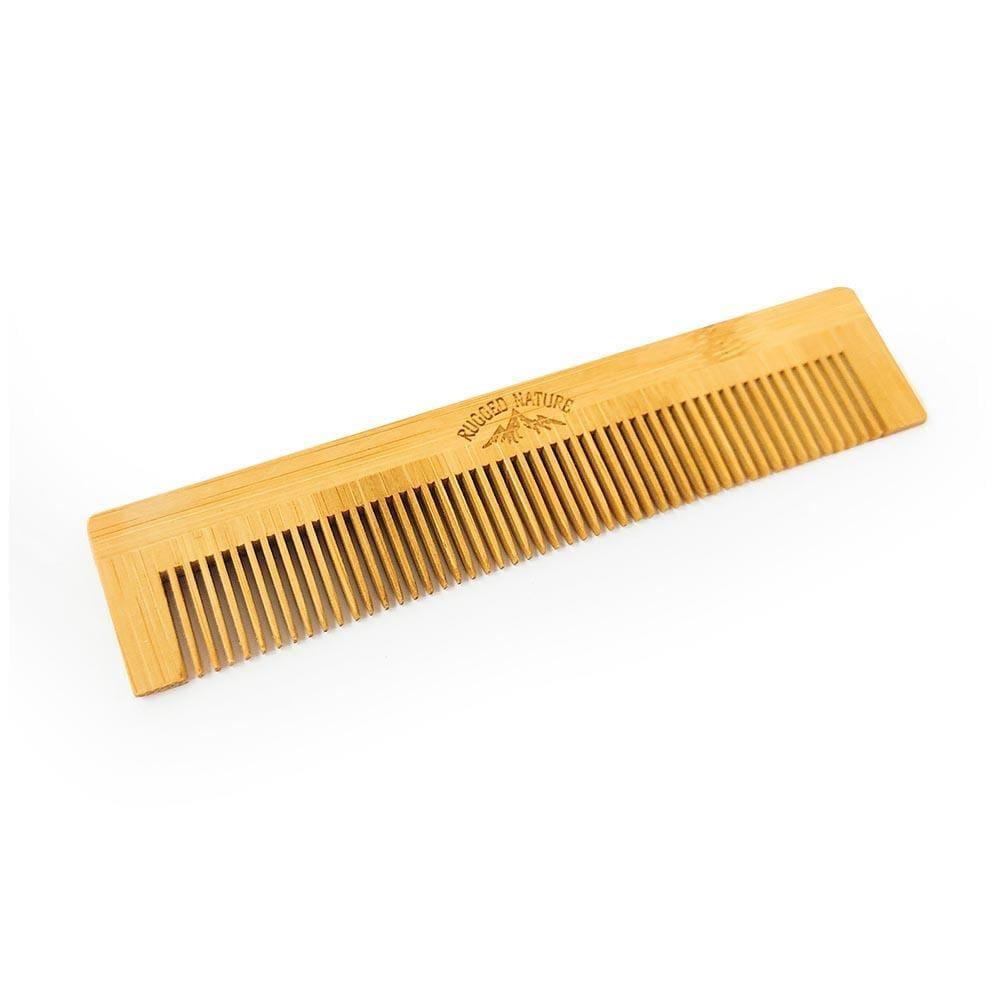 Bamboo Pocket Comb by Rugged Nature &Keep