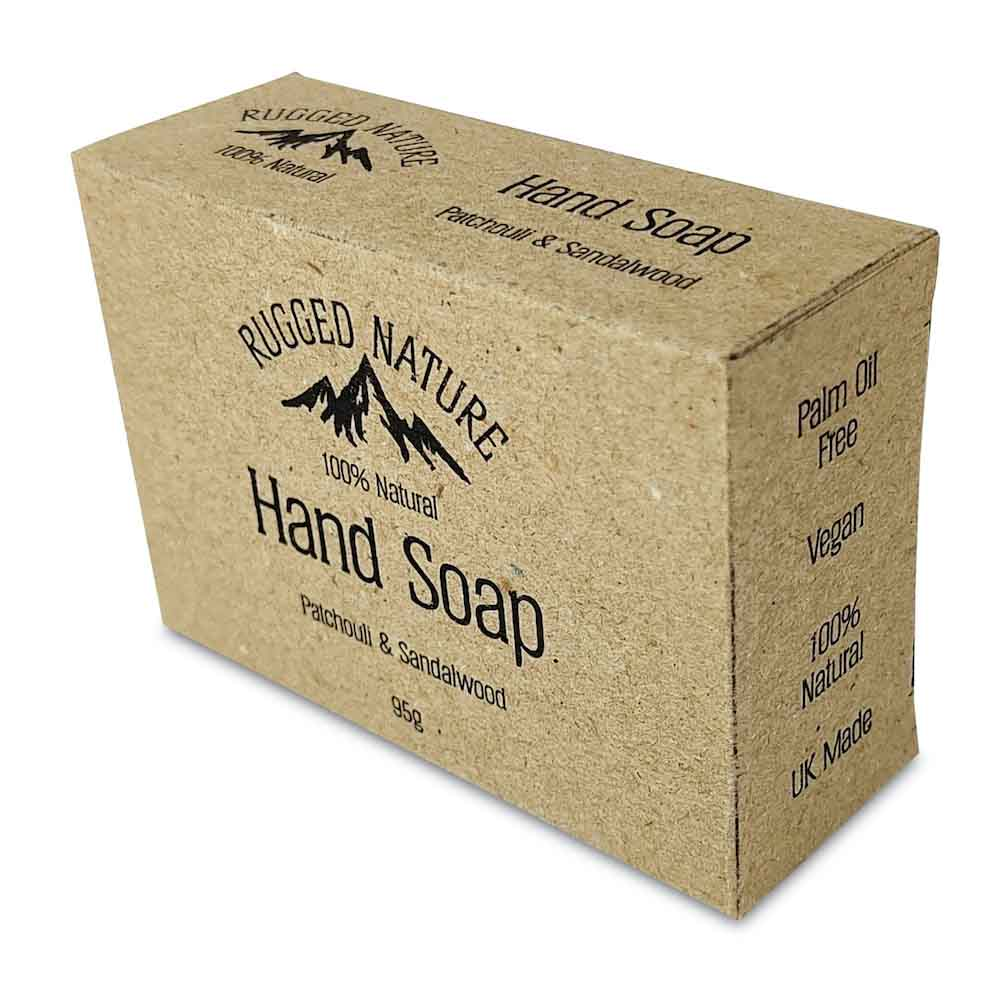 Patchouli & Sandalwood Hand Soap by Rugged Nature &Keep