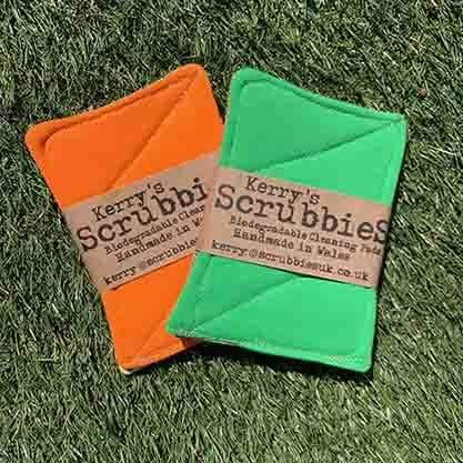 Scrubbies Washing Up Pads - Neon