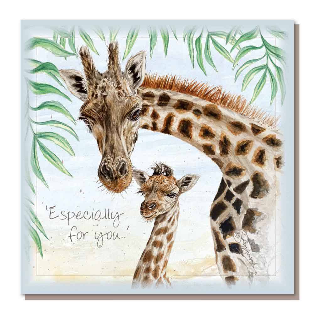 Charity Greetings Card by Shared Earth - Especially For You &Keep