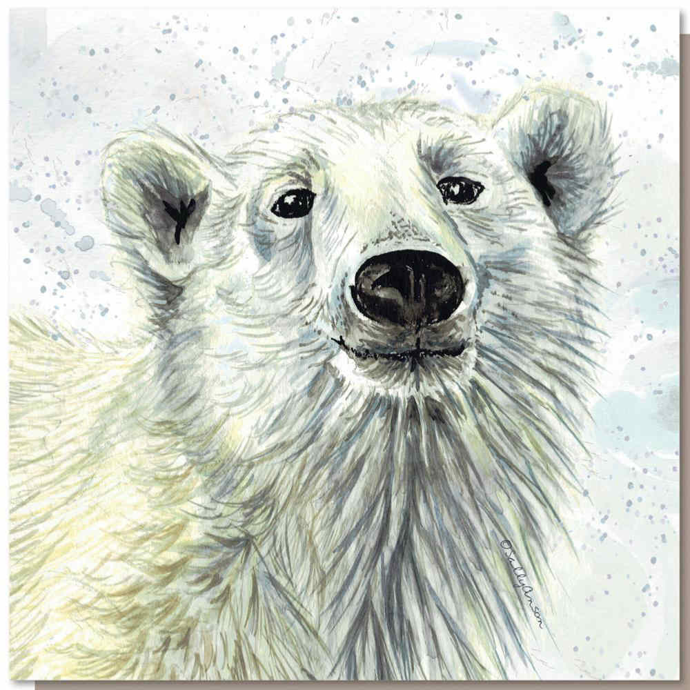 Greetings Card by Shared Earth - Polar Bear
