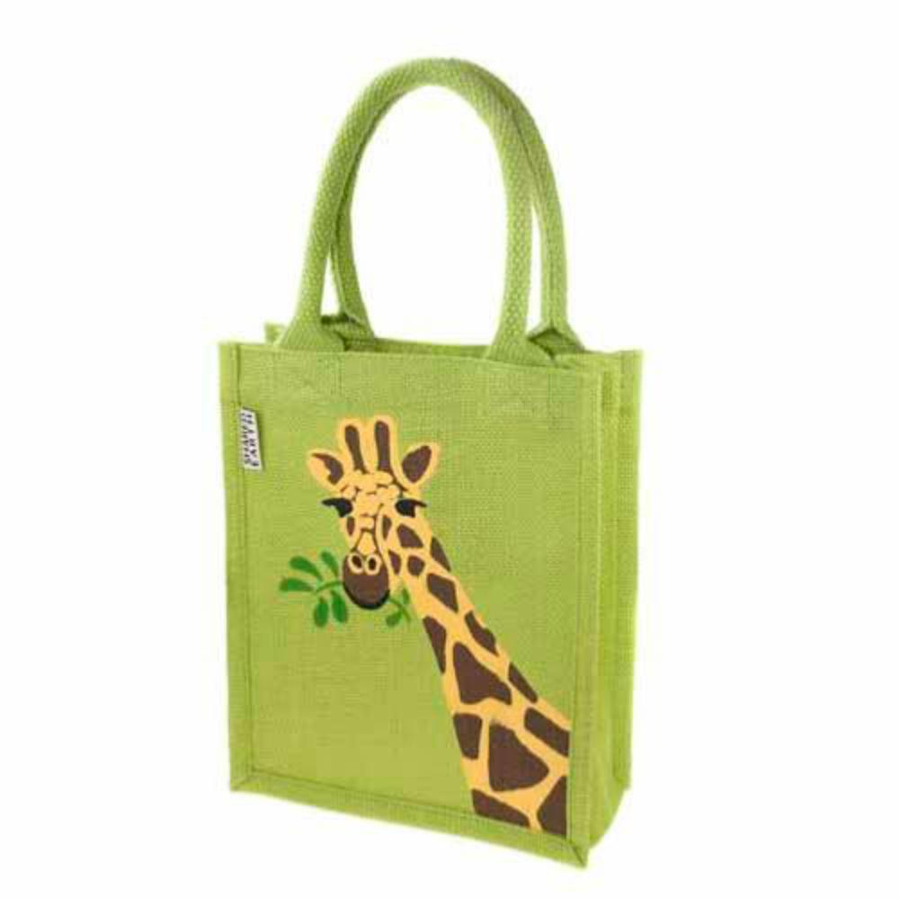 Small Jute Shopping Bag by Shared Earth - Giraffe &Keep