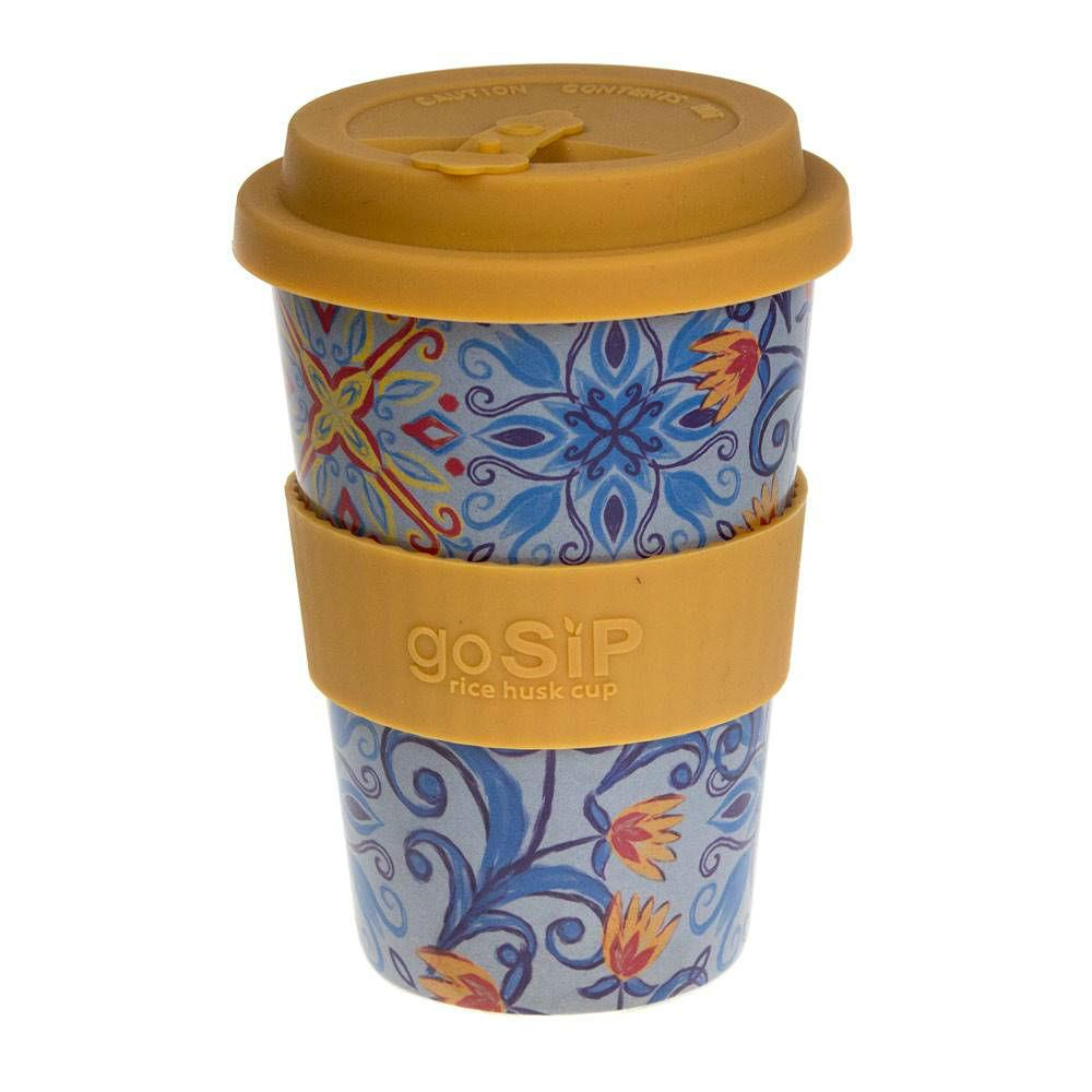 goSIP Biodegradable Rice Husk Coffee Cup 14oz (400ml) - Marrakesh &Keep