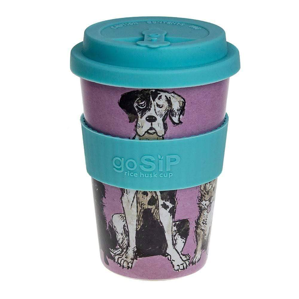 goSIP Biodegradable Rice Husk Coffee Cup 14oz (400ml) - Walkies