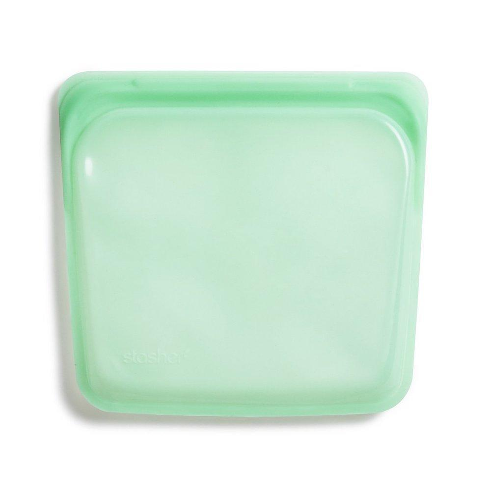 Stasher Reusable Silicone Sandwich Bag (450ml) Mint &Keep