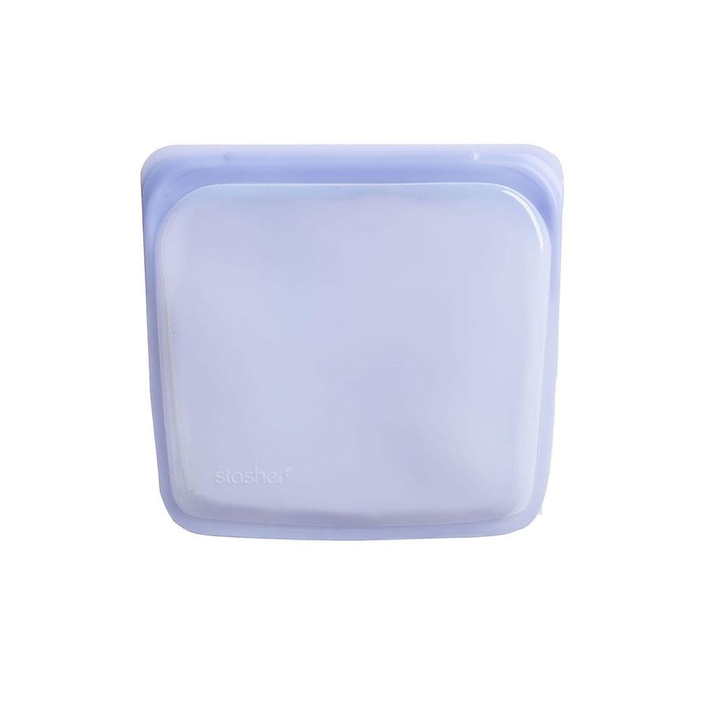 Stasher Reusable Silicone Sandwich Bag (450ml) Amethyst &Keep