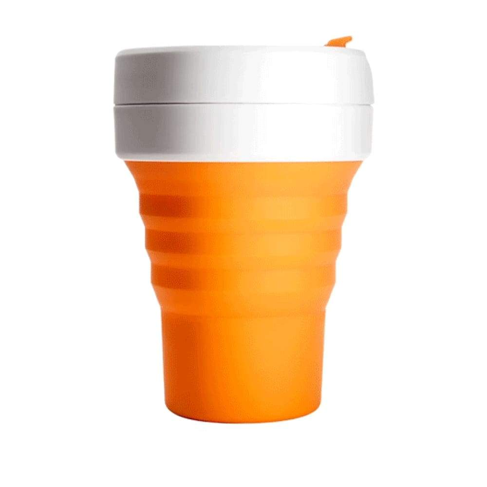 Stojo Stojo Brooklyn Collapsible Coffee Cup 12oz (355ml) - CARNATION &Keep