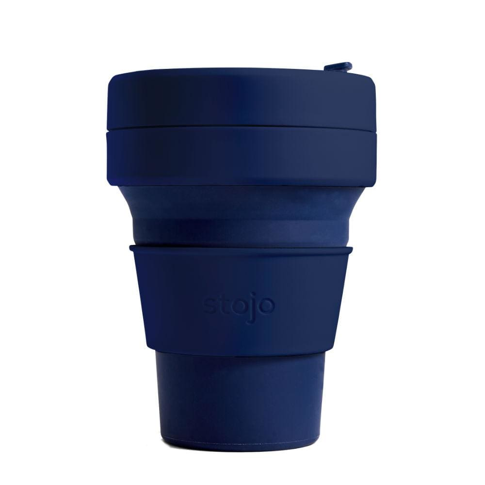 Stojo Stojo Brooklyn Collapsible Coffee Cup 12oz (355ml) - DENIM &Keep