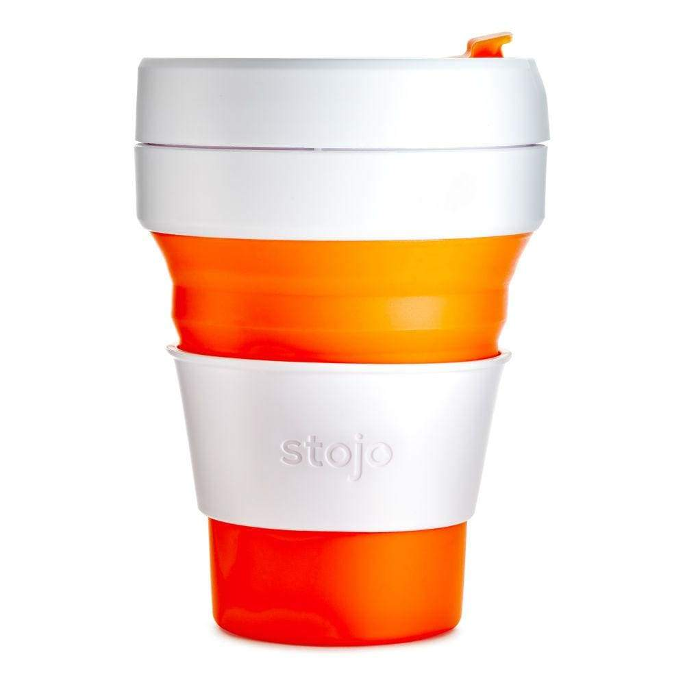 Stojo Stojo Collapsible & Reusable Coffee Cup 12Oz (355Ml) - Orange &keep