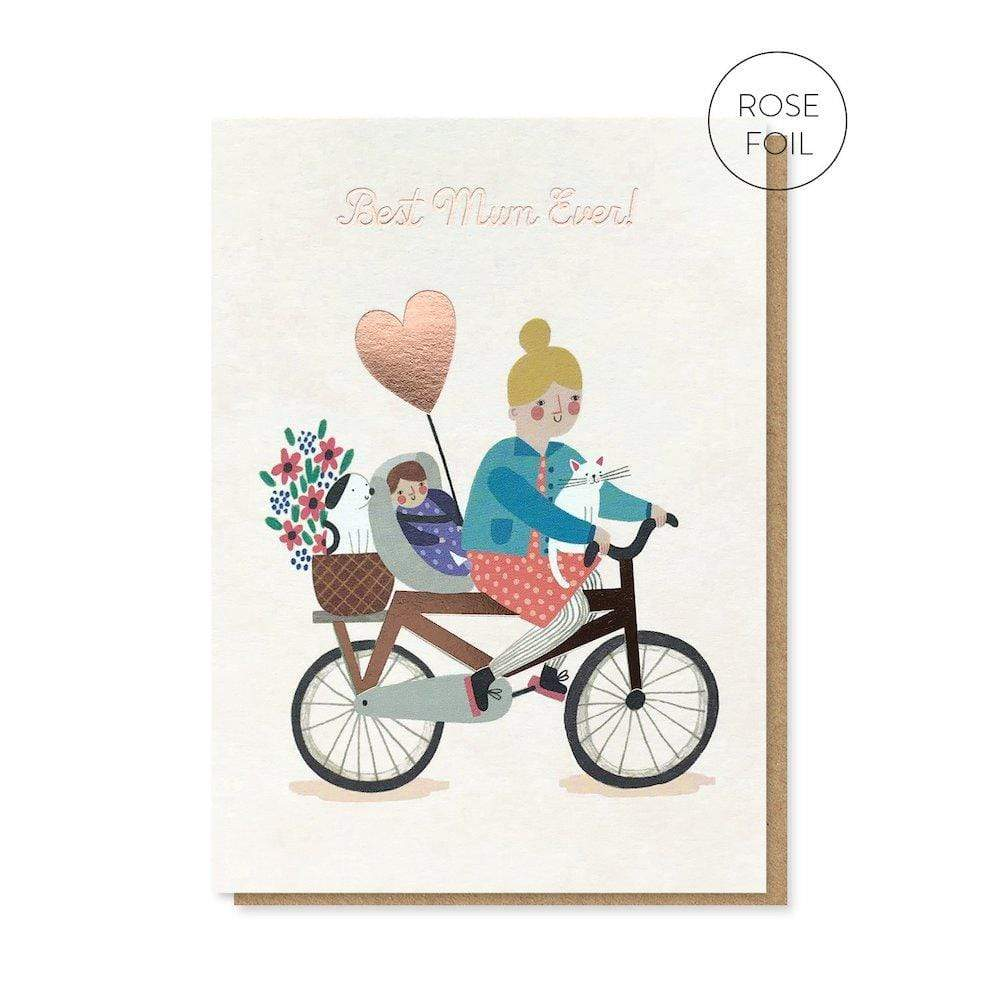 Best Mum Ever Greetings Card Stormy Knight &Keep
