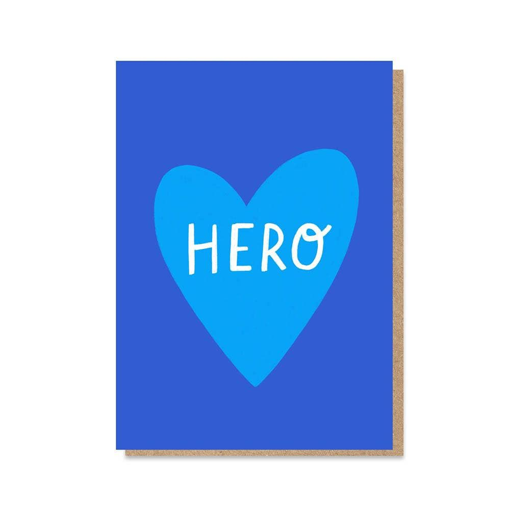'Hero' NHS Charity Greetings Card &Keep