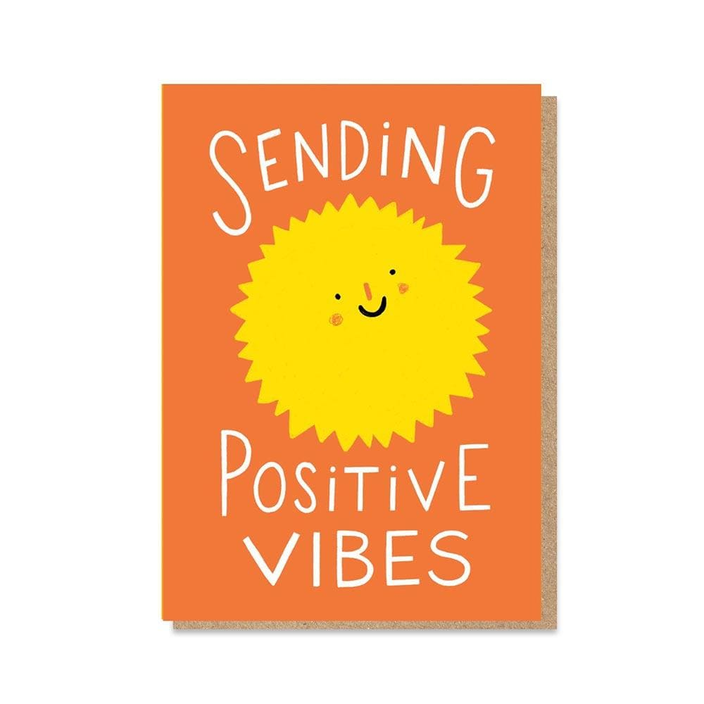 'Positive Vibes' NHS Charity Greetings Card &Keep