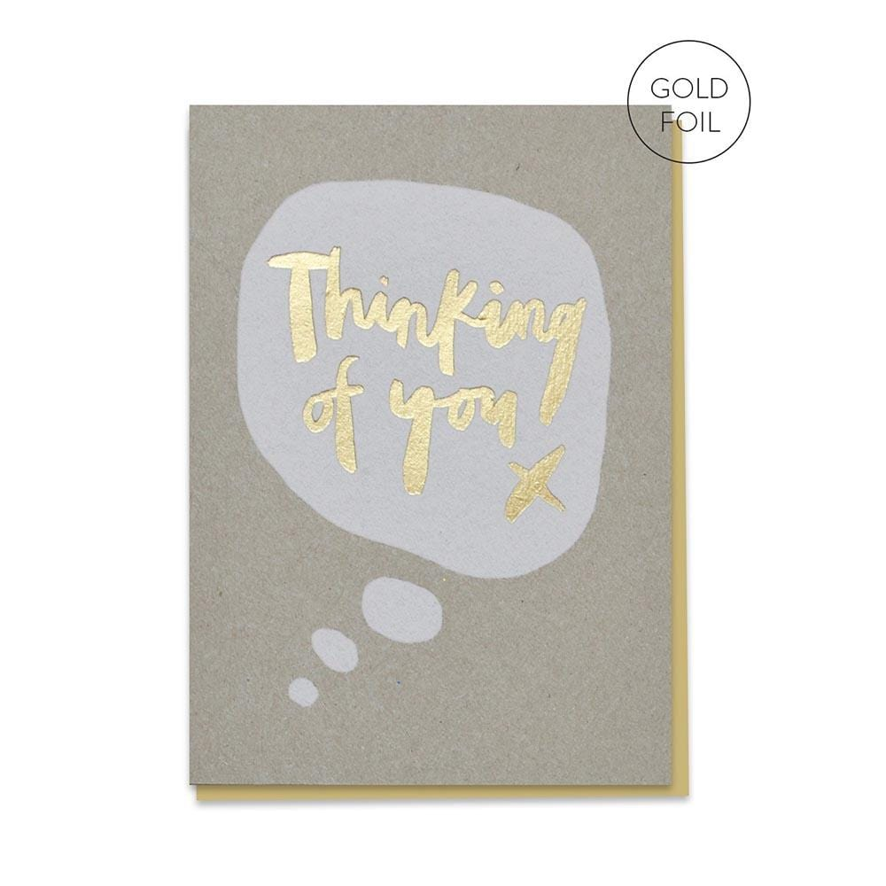 Thinking Of You - Recycled Greetings Card &Keep
