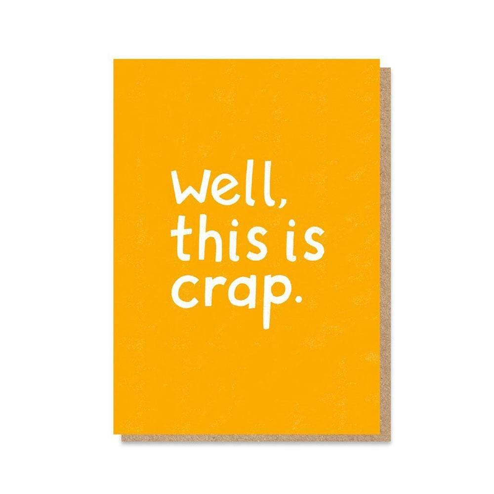 'This is crap' NHS Charity Greetings Card