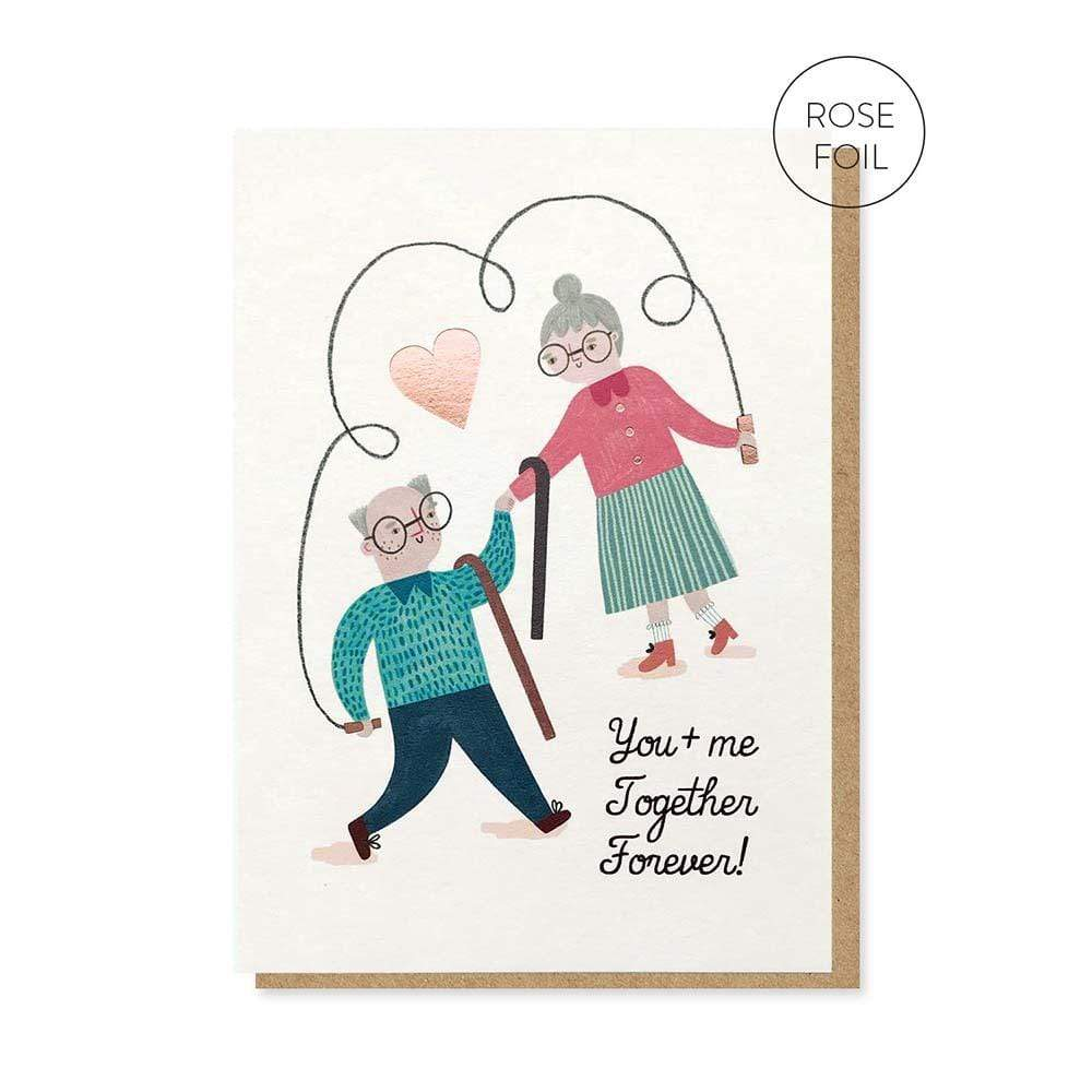 Together Forever Greetings Card &Keep