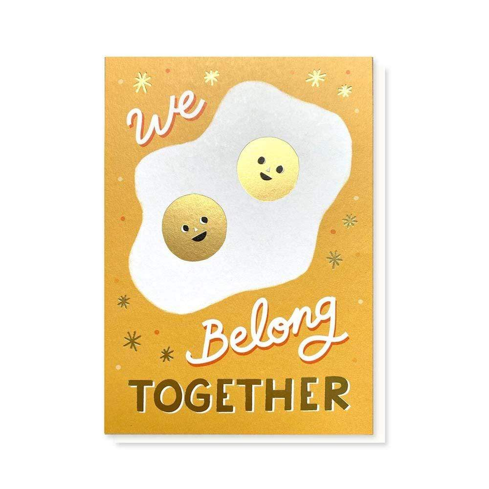We Belong Together Greetings Card &Keep