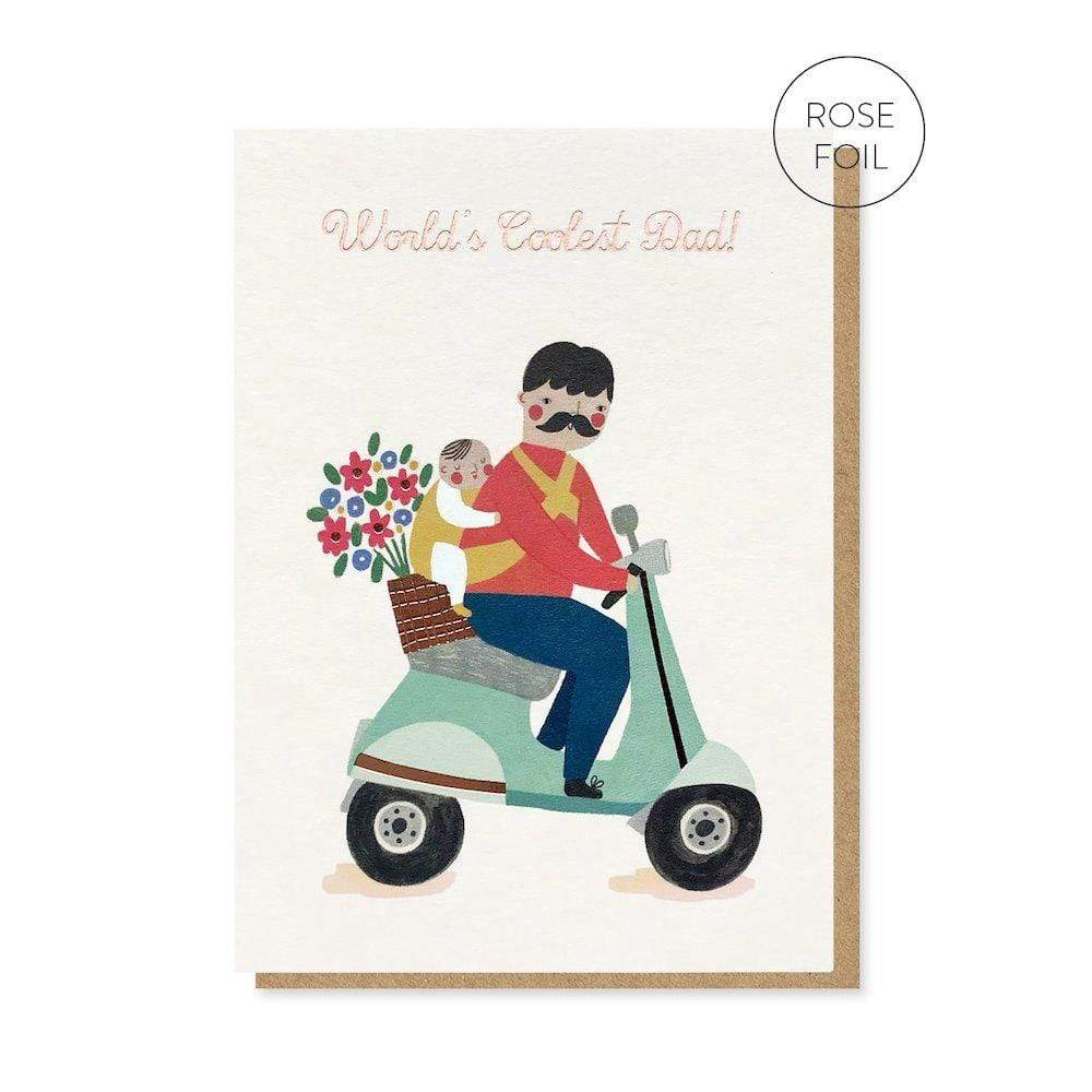 World's Coolest Dad Greetings Card Stormy Knight &Keep