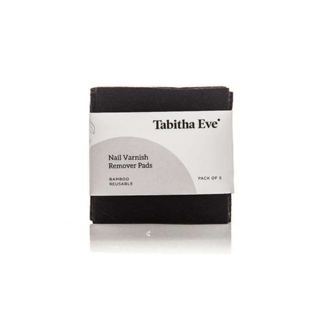 Tabitha Eve Reusable Bamboo Nail Varnish Remover Pads &Keep