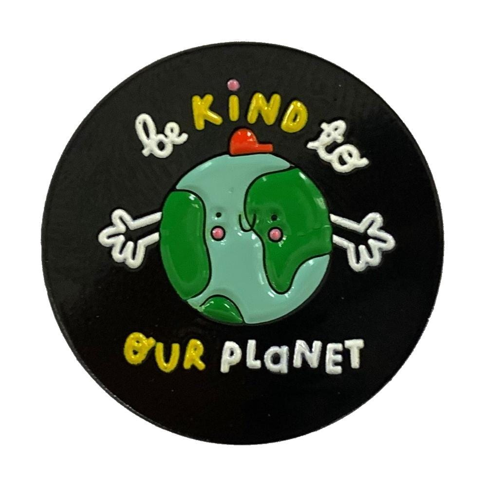 Planet Kind Enamel Pin Badge The Kindness Co-op &Keep