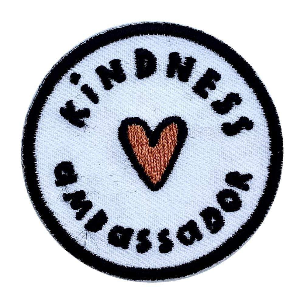 Kindness Ambassador Embroidered Iron-On Patch The Kindness Co-op &Keep
