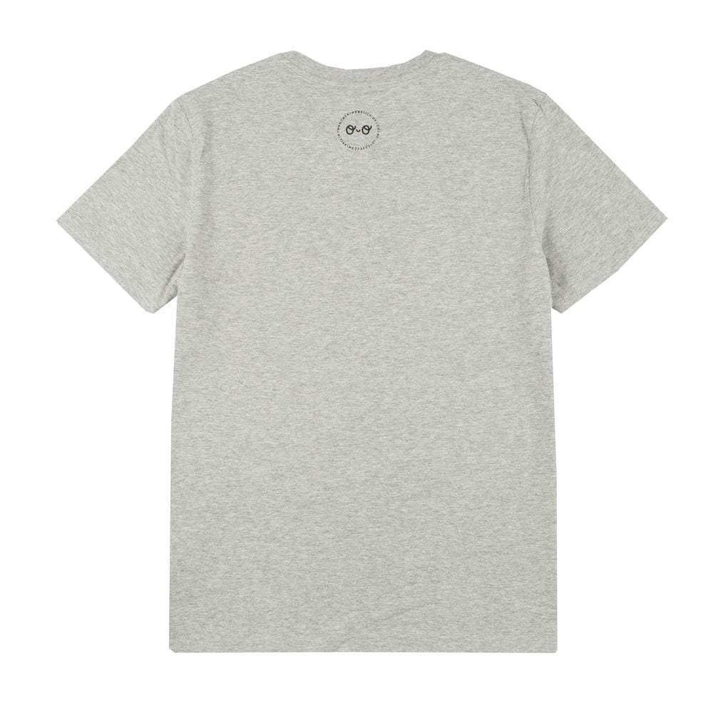 Be Kind Adults Organic Cotton T-Shirt - Grey by The Kindness Co-op &Keep