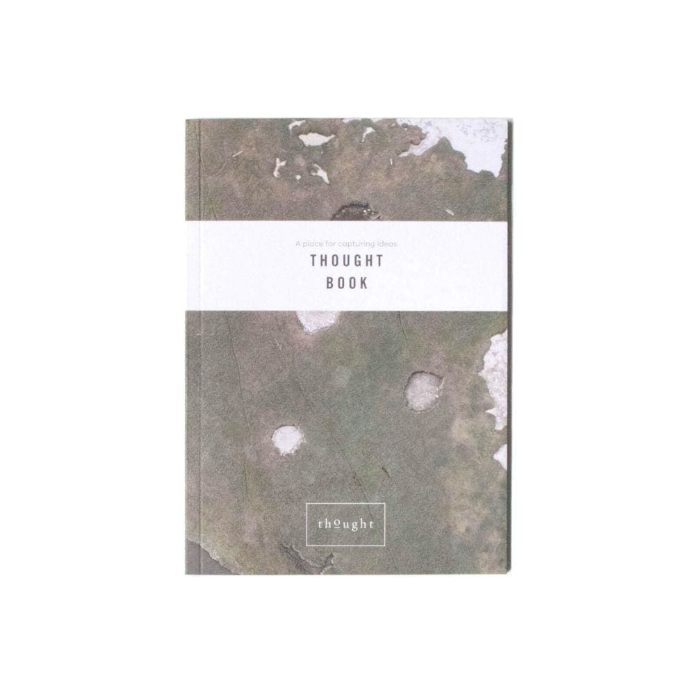 Thought Book - A5 Recycled Paper Notebook by Thought