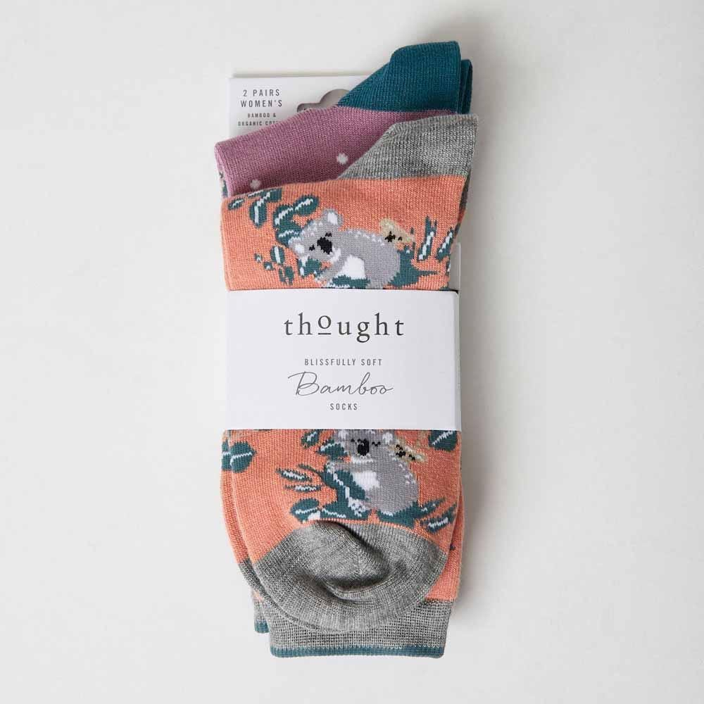 2-Pack of Women's Aussie Bamboo Socks by Thought &Keep