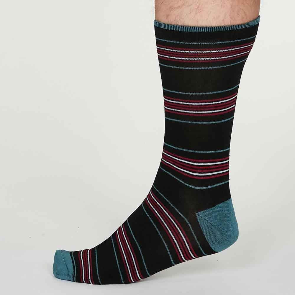 Gift Box of 4 Men's Bamboo Socks by Thought - Under Sea &Keep