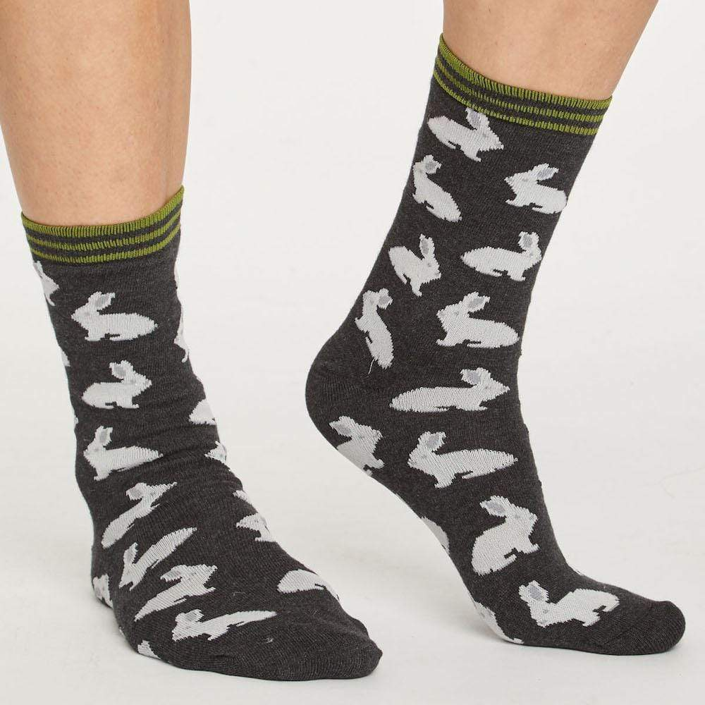 Gift Box of 7 Women's Bamboo Socks by Thought Clothing - Fauna &Keep