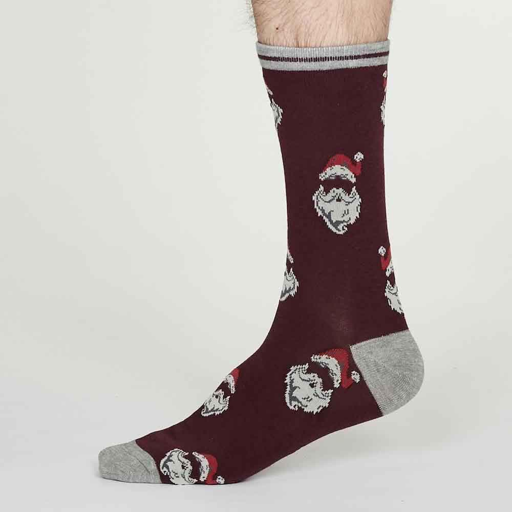Men's Santa Bamboo Socks by Thought &Keep