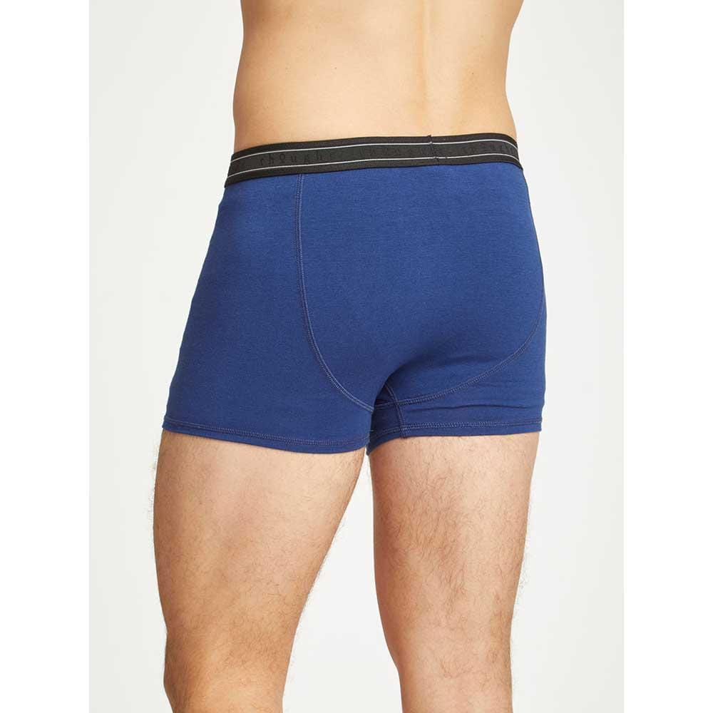 Men's Bamboo 'Arthur' Boxers by Thought - Sapphire Blue &Keep